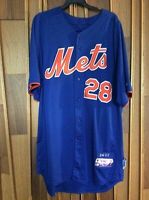 2013 New York Mets Game Used / Issued BP Jersey Daniel Murphy