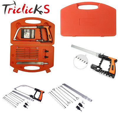 11-in-1 Universal Saw 2017 All Purpose Hand DIY Mental Woodworking Glass Saw Set