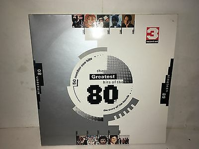 The Greatest Hits Of The 80's 50 Number 1 Hits Lp