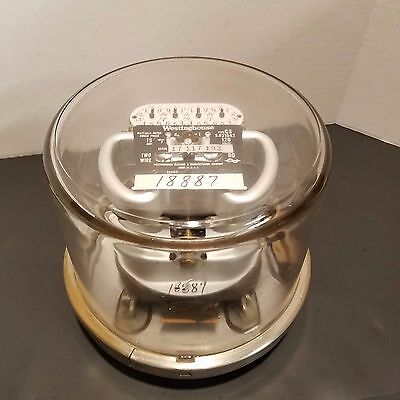 Vintage Westinghouse Meter Type CS 15 Amp 120 Volts Two Wire 60 - Steampunk