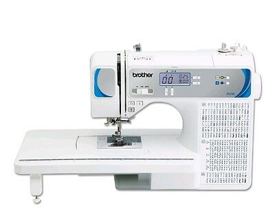 Brother Fs210 Lcd Computerised Portable Quilting Stitch Sewing Machine Elna Pc