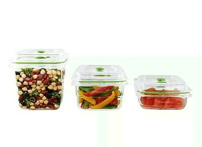 Foodsaver FFC020X Fresh Container 3-Piece Combo Pack, Clear