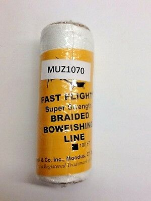 Muzzy 200# Brownell Fast Flite (100ft) Bowfishing Line.