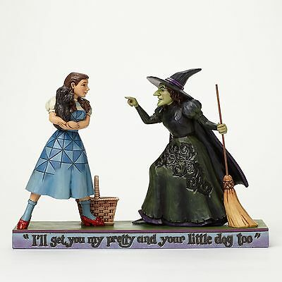 Jim Shore Wizard Of Oz 4046423 Dorothy With Wicked Witch New & Boxed