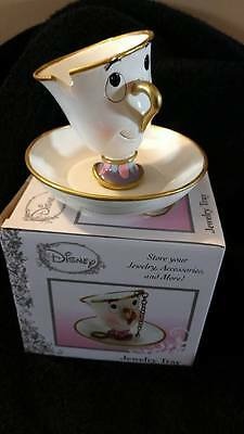 Disney Hot Topic Chip Jewellery Tray Beauty and the Beast