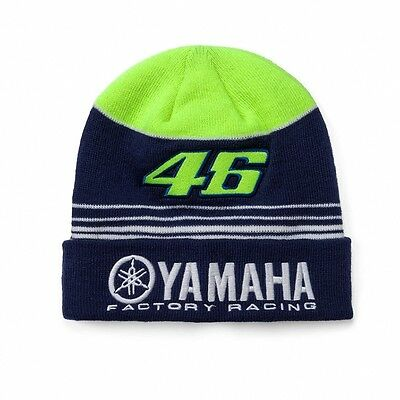 2017 OFFICIAL Moto GP VR46 MENS Valentino Rossi Yamaha 46 Beanie Hat – NEW