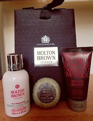 Molton brown pink pepperpod gift set *bargain*birthday*SALE