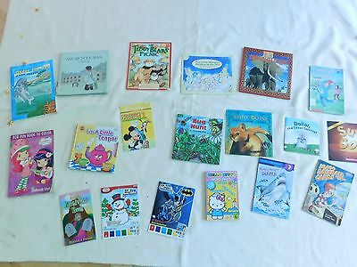 Box of 50+ children's books, paperback, hardcover