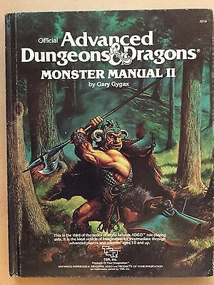 Advanced Dungeons & Dragons, Monster Manual II
