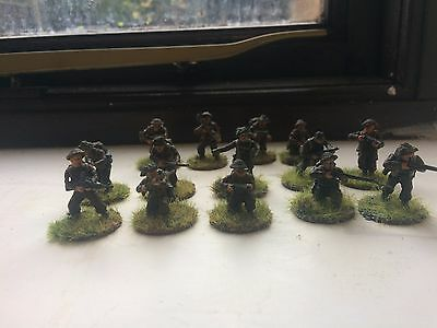 Bolt Action 28mm Painted British Infantry Painted x14