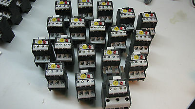 GE Overload relays: (Batch #1)Various Sizes; New