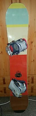 Bataleon 2015 Whatever snowboard 156 cm with Flow bindings 6-9