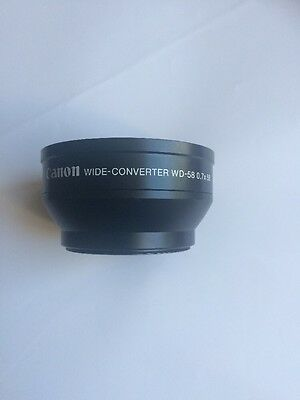 Canon Wide-Converter WD-58  0.7x58  Wide Angle Lens Converter