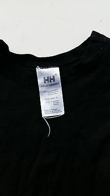 Helly Hansen black women's thermal top size S
