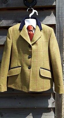 "29"" Designer Browbands Tweed Show Jacket"