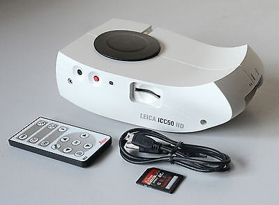 LEICA Microscope ICC50 HD Camera Video Module & Remote for Leica DM500 DM750 etc