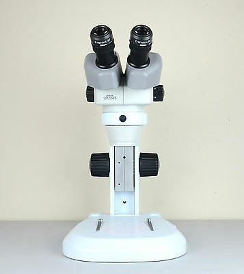Nikon SMZ645 Stereo Zoom Microscope wt Nikon 10x/22 Eyepieces on New Table Stand
