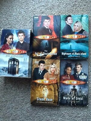 The Collection - Doctor Who Box Set Collection of 4  PB Books David Tennant
