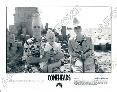 1993 Paramount Pictures Movie Coneheads with Actor Dan Aykroyd Press Photo