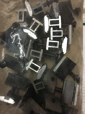 "*NEW*(20pcs) SanpNrack - Mid clamp W/ WEEB, Assembly 1.31-1.78"", Black 242-02114"