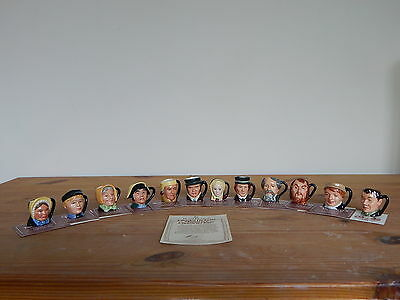 Royal Doulton Character Jugs - Charles Dickens Commemorative Set - Tiny