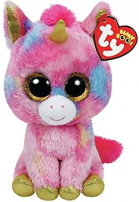 Fantasia the Unicorn Children Kids Plush Cuddly Toy Soft Pink Collectible 15cm