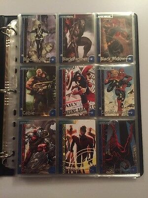 Marvel Fleer Retro 2013 Complete Base Card Set