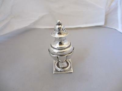 Sterling Silver Pepper Pot Antique Victorian Birmingham 1886. MBN01152