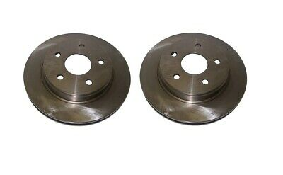 2 x Front Disc /& CERAMIC Pads Jeep Grand Cherokee 1999-2004 AKEBONO BRK//WJ//033A