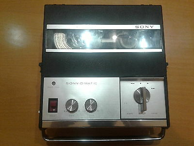 Sony TC-900S Vintage Reel to Reel tape recoder. Very Good condition