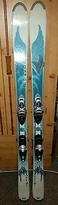 Rossignol twin tip woman freestyle skis 158 with Rossignol Safir bindings