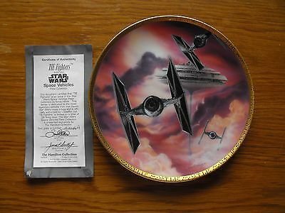 Hamilton Star Wars Plate Tie Fighters Limited Edition