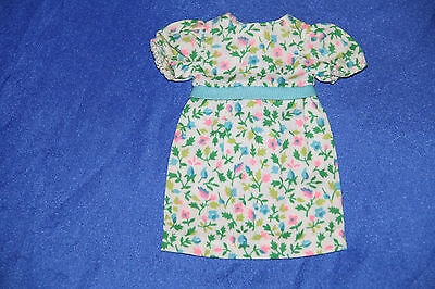VHTF Skipper turquoise variation Right in Style dress only  1967