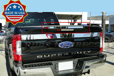 For 2017-2018 Ford F250//F350//F450 SD Lower Tailgate Plain Trim 4 1//2/'/' 1PC