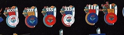 SYDNEY 2000 OLYMPIC GAMES TOWNS TO GO Torch Relay PIN BADGE SET 7 PINS