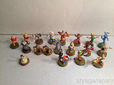 DISNEY 100 YEARS OF MAGIC McDonalds Happy Meal TOYS lot of 19 figures
