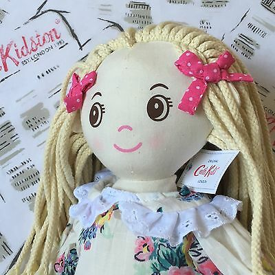 Genuine CATH KIDSTON Amelia Rag Doll Highgate Rose NEW with Tags + Gift Bag