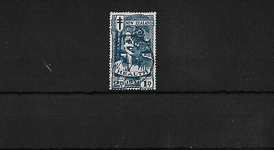 New Zealand Sg547, 1931 Health 2D + 1D Blue Fine Used, Cat £60