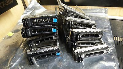 "Lot of 10 H9122 3.5"" Dell Server S;eds / Caddies / Trays }"
