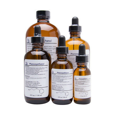 Phenoxyethanol Cosmetic Preservative Liquid with Dropper Cap