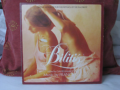 Bilitis-Original Soundtrack-1978 UK Original Vinyl Record-UAS 30161-Vg.Ex.Cond.