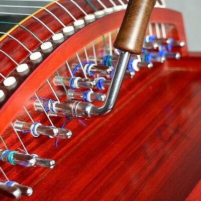 Guzheng Wrench Tune Up Tuning Harmonize Chinese Zither Instrument Tool Parts New