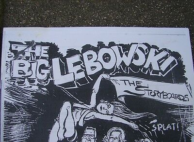 The Big Lebowski Crew Storyboards Call Sheets Contract Location Dude's Abode +++