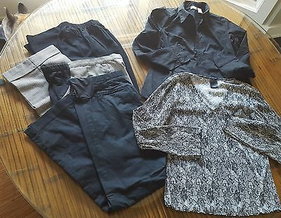 ~Maternity Clothes ~ Lot of 5 work clothes = 3 Pants, & 2 Shirts