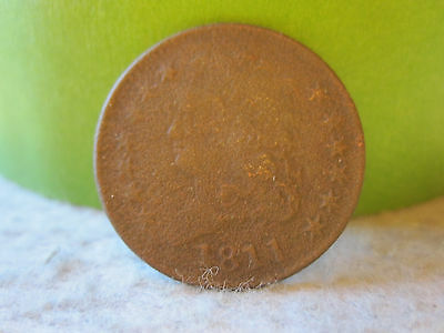 1811 Classic Head Half Cent (Rare Key Date 1/2 Cent) Awesome Detail