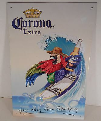 2006 Corona Extra Beer Sign Surfing Parrott Miles Away From Ordinary A-1-A