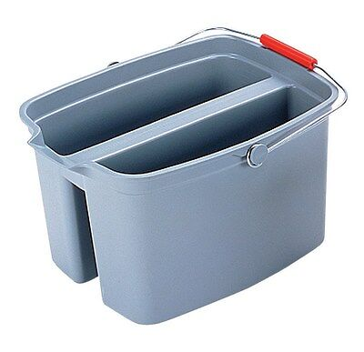 Rubbermaid Pail Double 19 Qt Gray