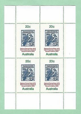 mjstampshobby 1978 Australia National Stamp Week MNH OG (Lot2939)