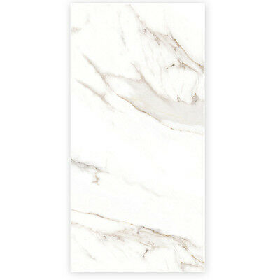 Carrara White Marble Tile 600x1200mm