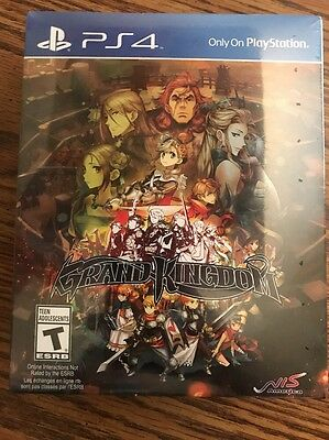 NEW Grand Kingdom Limited Collectors Edition Game NIS Sony Playstation 4 PS4